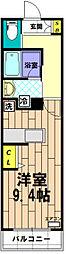 レジス立川曙町[702号室]の間取り