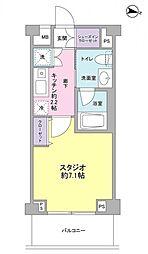 サンピエス桜新町[2階]の間取り