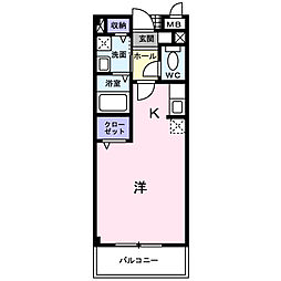 ソル・レヴェンテ[2階]の間取り