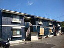 静岡県伊東市吉田の賃貸アパートの外観