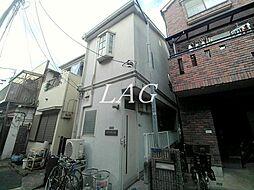 東京都北区東田端2丁目の賃貸アパートの外観