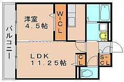 ロイヤルエスト3[3階]の間取り