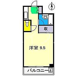 ロイヤルレジデンス奏[2階]の間取り