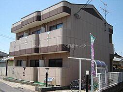 岡山県岡山市北区野殿東町の賃貸マンションの外観