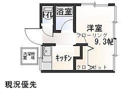 OKAZAKI[1階]の間取り