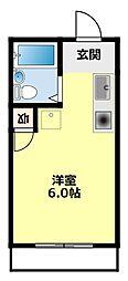 愛知県豊田市平戸橋町永和の賃貸アパートの間取り