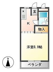 エポック喜多山[2階]の間取り
