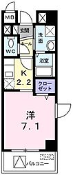 東京都西多摩郡瑞穂町大字箱根ケ崎の賃貸マンションの間取り