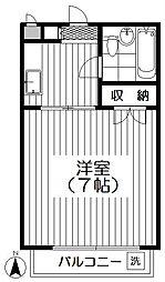 第三サンライズマンション[301号室]の間取り