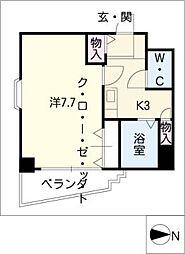 エフオート本郷[5階]の間取り
