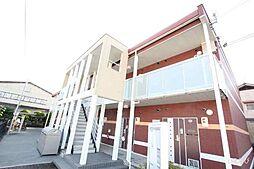 広島県福山市千田町の賃貸アパートの外観