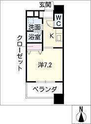 MARCHE一宮[13階]の間取り