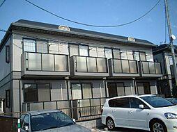 埼玉県さいたま市南区根岸4丁目の賃貸アパートの外観