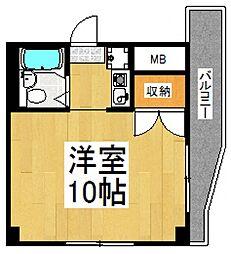 セイコーガーデン朝霞[3階]の間取り