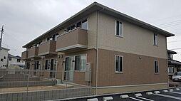 岡山県岡山市南区福島1丁目の賃貸アパートの外観