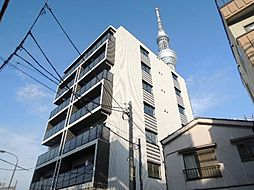 クレストコート東京スカイツリー[303号室]の外観