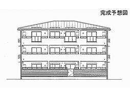 京都府京都市伏見区醍醐東合場町の賃貸アパートの外観