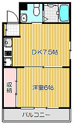 Nippo Homes[1階]の間取り