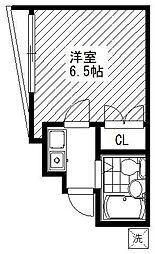 JPC MIZONOKUCHI[210号室]の間取り