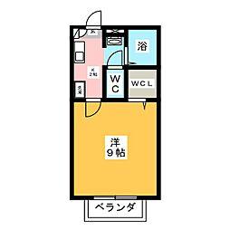 グランドール倉賀野[2階]の間取り