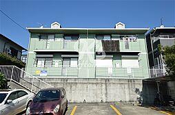 兵庫県神戸市須磨区白川台3丁目の賃貸アパートの外観