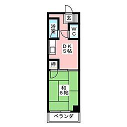 太慶レジデンス[2階]の間取り