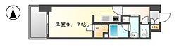 エルスタンザ黒川[6階]の間取り