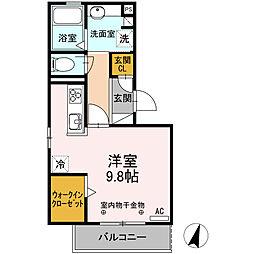 ルーモ[2階]の間取り