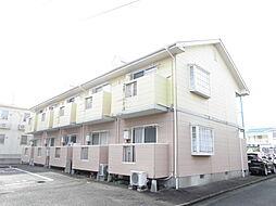 新潟県新潟市江南区五月町1丁目の賃貸アパートの外観