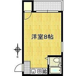 サンクチュアリ21[3階]の間取り