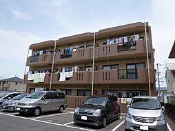 岡山県倉敷市新田の賃貸マンションの外観