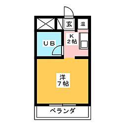 ダイアパレス新栄 902号室[9階]の間取り