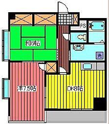 伊勢屋ビル[8階]の間取り