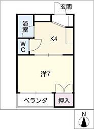 ハイムエフォーレ[1階]の間取り