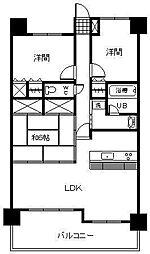 サーパスシティ宮崎駅前[99号室]の間取り
