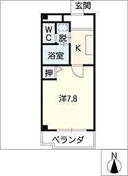 グランデ玉の井[2階]の間取り