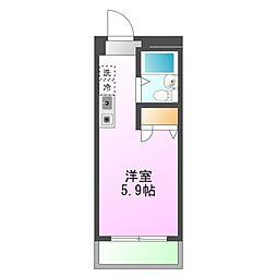 東京都八王子市台町4丁目の賃貸マンションの間取り