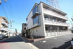 埼玉県八潮市大瀬3丁目の賃貸マンションの外観