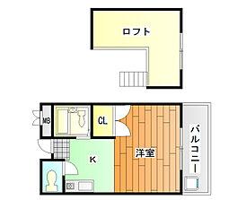 ロフトクラブ[3階]の間取り