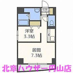 札幌レジデンス植物園[2階]の間取り