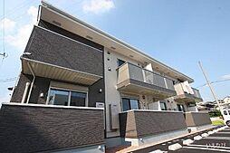 広島県福山市春日町6の賃貸アパートの外観