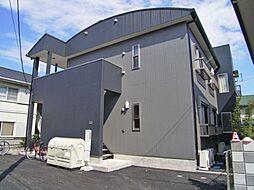 埼玉県東松山市幸町の賃貸アパートの外観