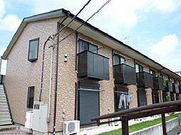 千葉県流山市大字中野久木の賃貸アパートの外観