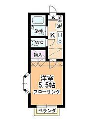 エクセラ[1階]の間取り