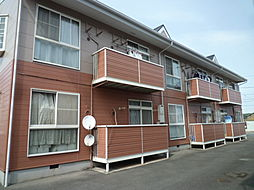 岡山県倉敷市北畝3丁目の賃貸アパートの外観