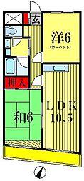 紀伊国屋マンション[5階]の間取り