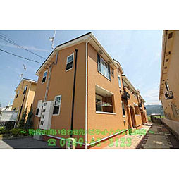 滋賀県長浜市高月町柏原の賃貸アパートの外観