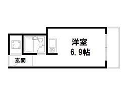 京都今出川レジデンス[3階]の間取り
