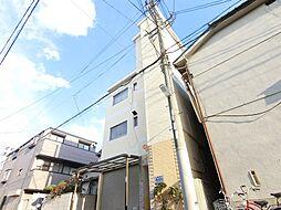 大阪府堺市堺区三条通の賃貸マンションの外観