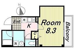 パルコAmagasaki[301号室]の間取り